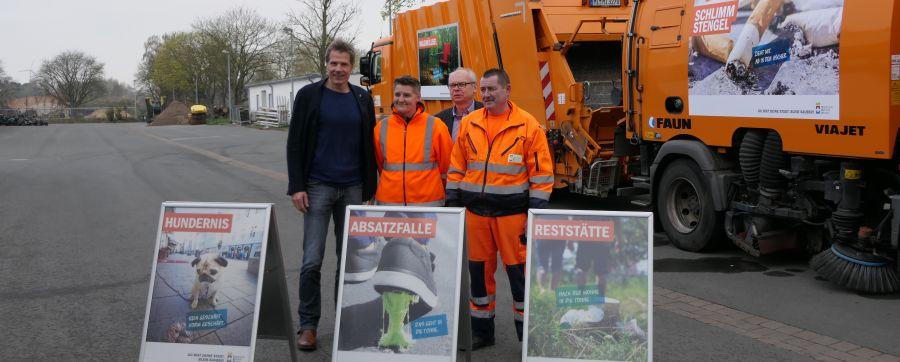 Kampagne gegen Müll: Minden soll sauberer werden
